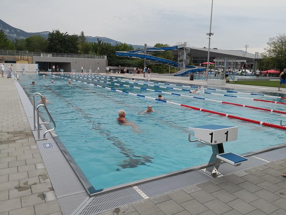 50 m Hallenbad Schweiz Traininglager Schwimmen